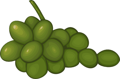 Grapes clipart black and white free clipart images 4