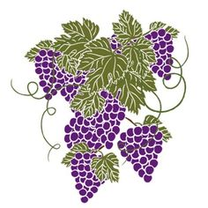 Grapes grape art on grape vines clip art free and clip art 3
