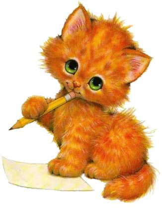Kitten cats gato clipart on laminas para decoupage kitty