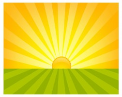Morning sunrise vector free free vector download files for clip art