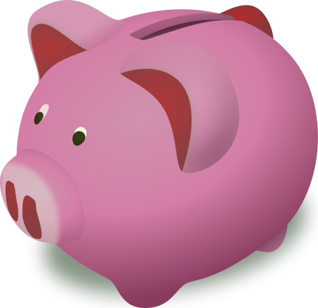 Nurse piggy bank clipart
