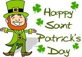 St patricks day free happy saint patrick clipart 2
