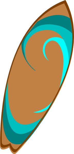 Surfboard clipart the cliparts