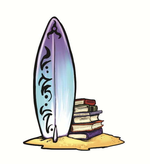 Tropical surfboard clipart surfing clipart surf pictures of 2 4