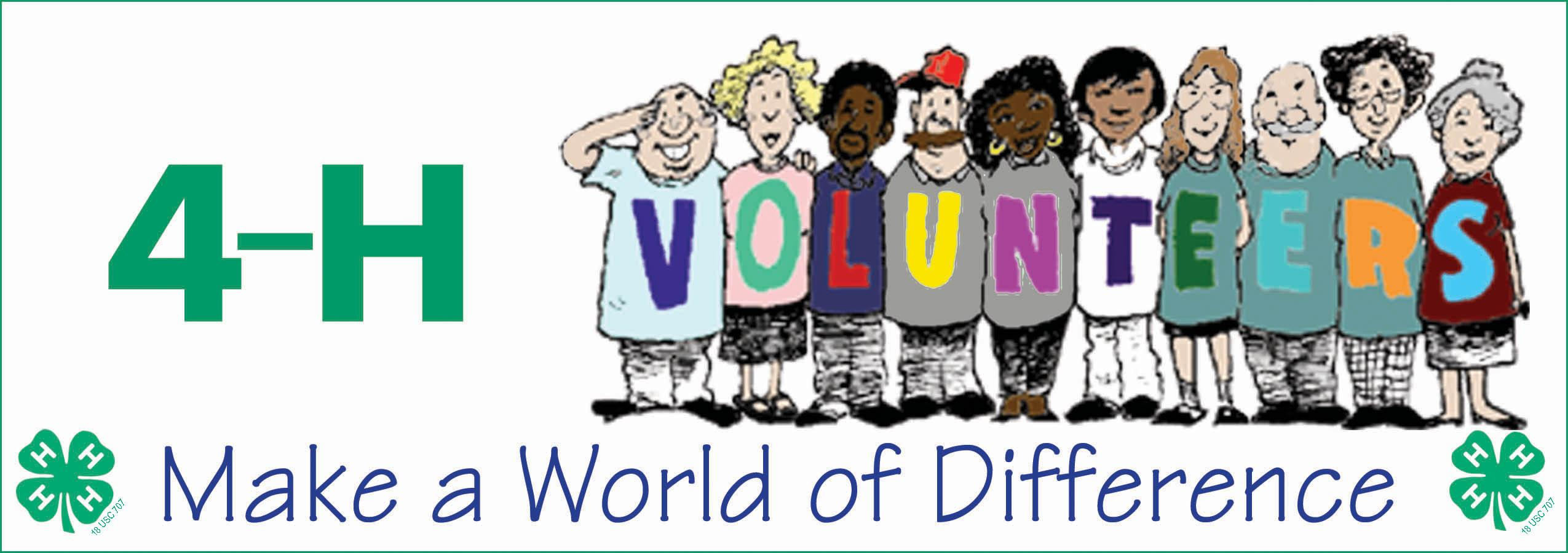 4 volunteer clipart