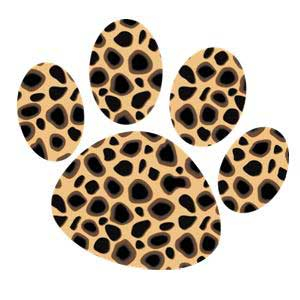 Cheetah paws clipart kid 2
