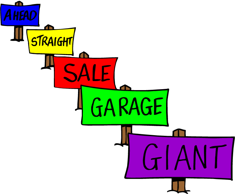 Church yard sale clipart clipart kid