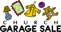 Church yard sale free clipart