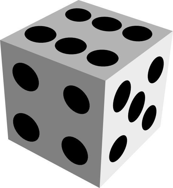 Dice clipart the cliparts 2