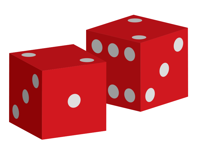 Dice free to use cliparts 4
