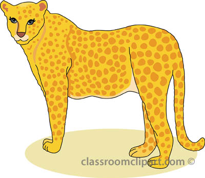 Free cheetah clipart clip art pictures graphics illustrations