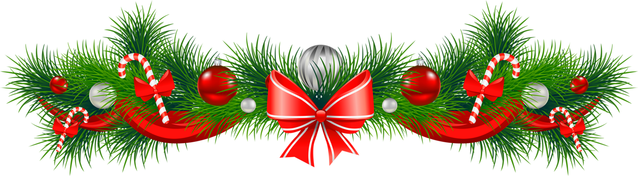 Free christmas garland clipart the cliparts