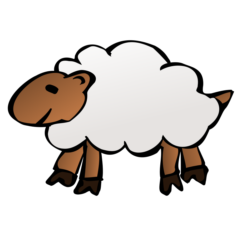 Lamb outline sheep clip art free clipart images image cliparting