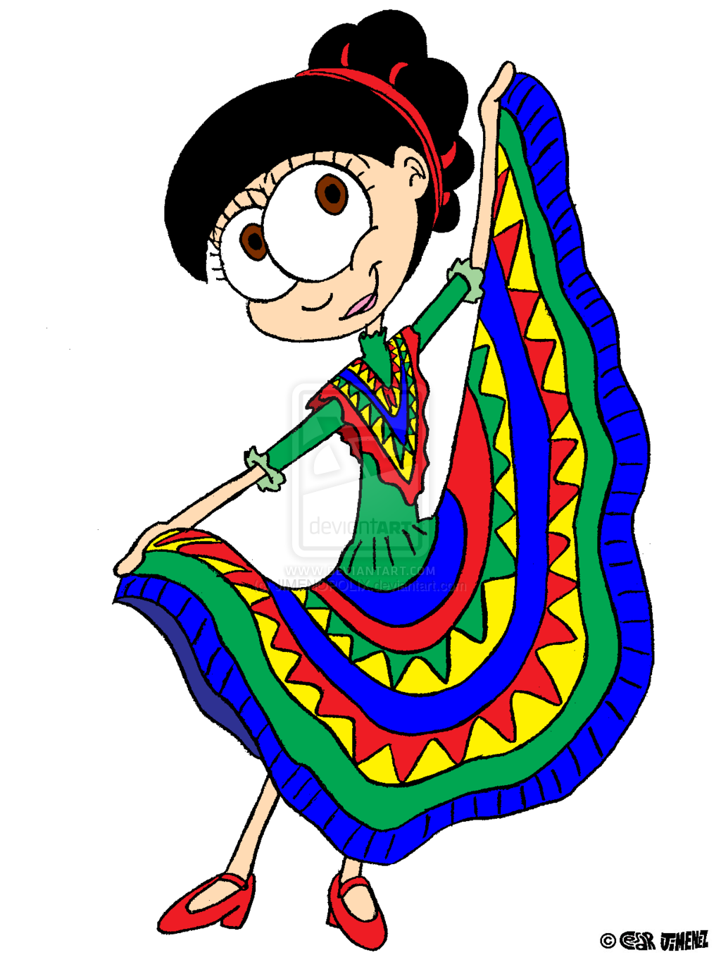Mexican dancers clipart clipart kid 2