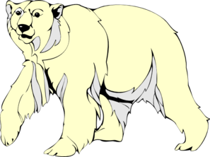 Polar bear bear clip art vector bear graphics image 3