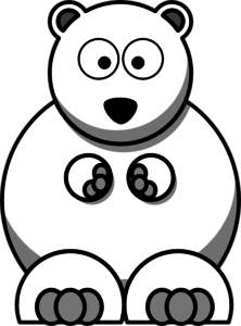 Polar bear clip art at clker vector clip art