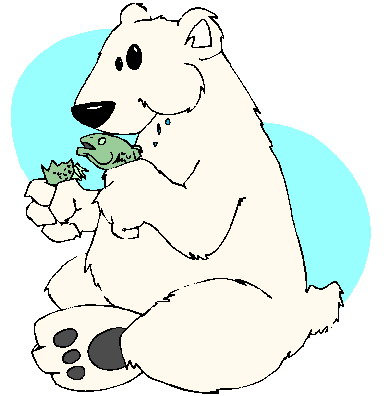Polar bear clip art for children free clipart images 3