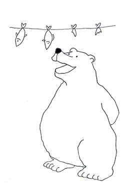 Polar bear clip art pictures of polar bears 5
