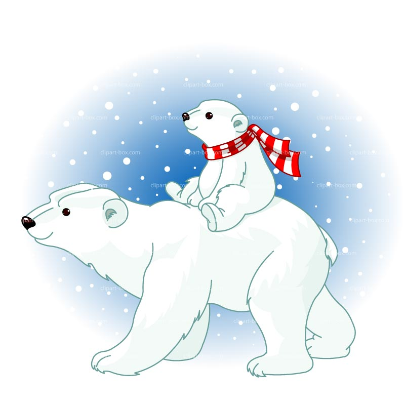 Polar bear polar animals clipart clipart kid 3