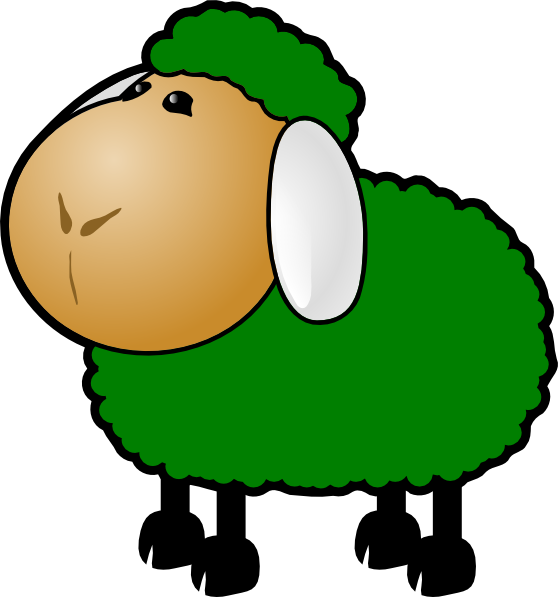 Sheep lamb clipart black and white free clipart images clipartix 5