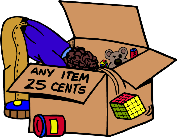 Yard sale clipart clipart kid