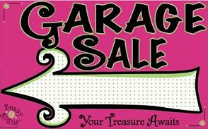Yard sale free garage sale sign clipart 4