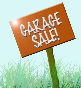 Yard sale garage sales miami dade county clipart