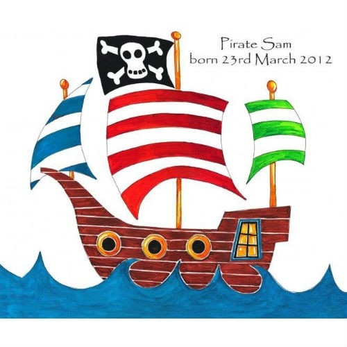 4 images of pirate ship clip art free printable
