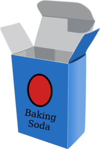 Baking soda clip art at vector clip art
