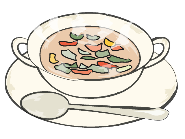 Bowl of soup clipart kid 2