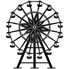 Carnival ferris wheel clip art vector clipart of a ferris wheel