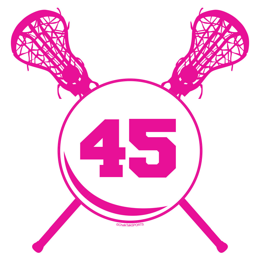 Cartoon lacrosse sticks cliparts