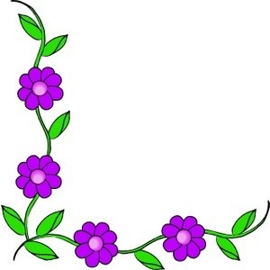 Clip art vines and flowers clipart