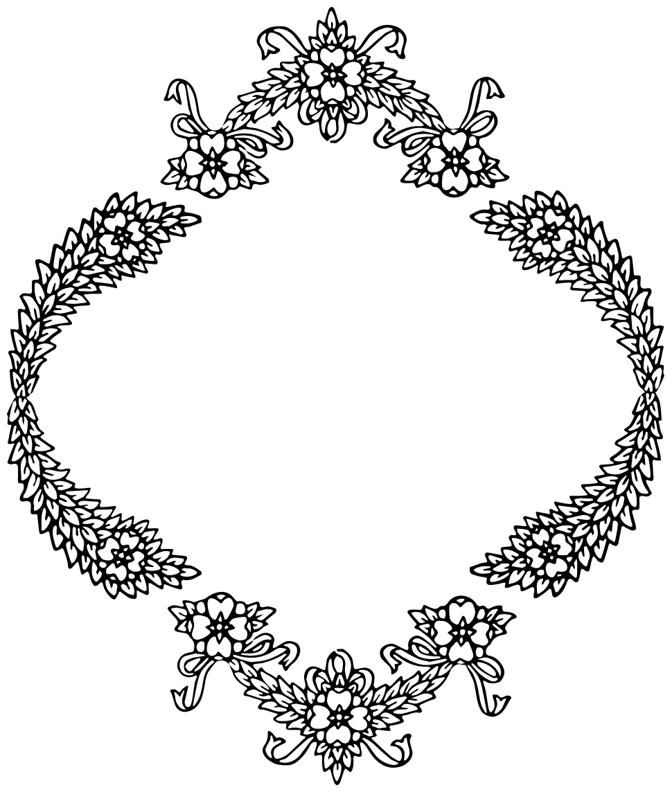 Clipart of christmas wreaths image