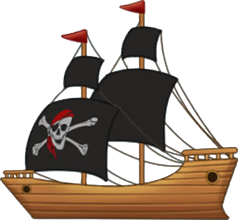 Clipart pirate ship