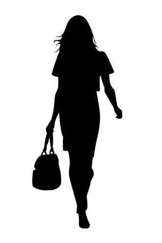 Fashion model clip art