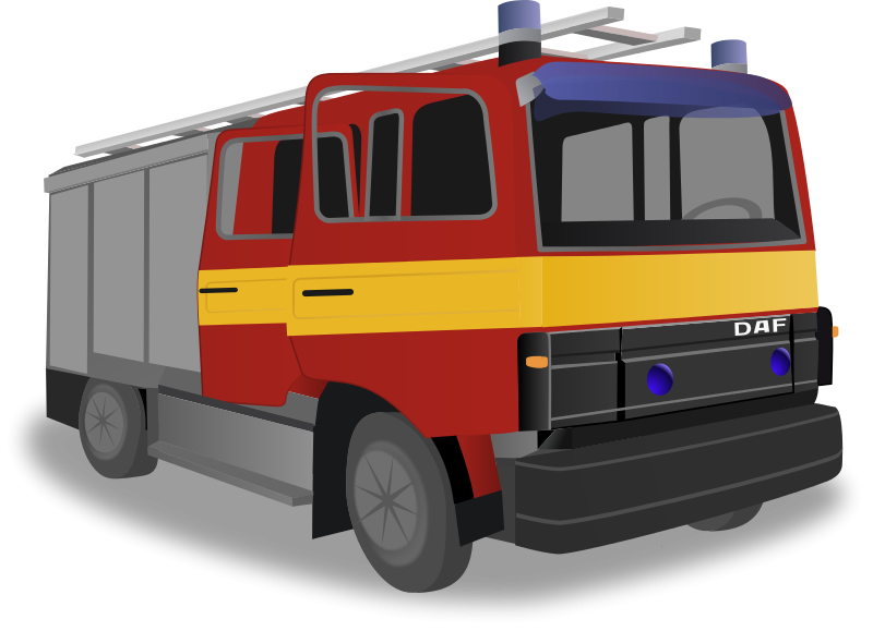 Firetruck free to use clipart
