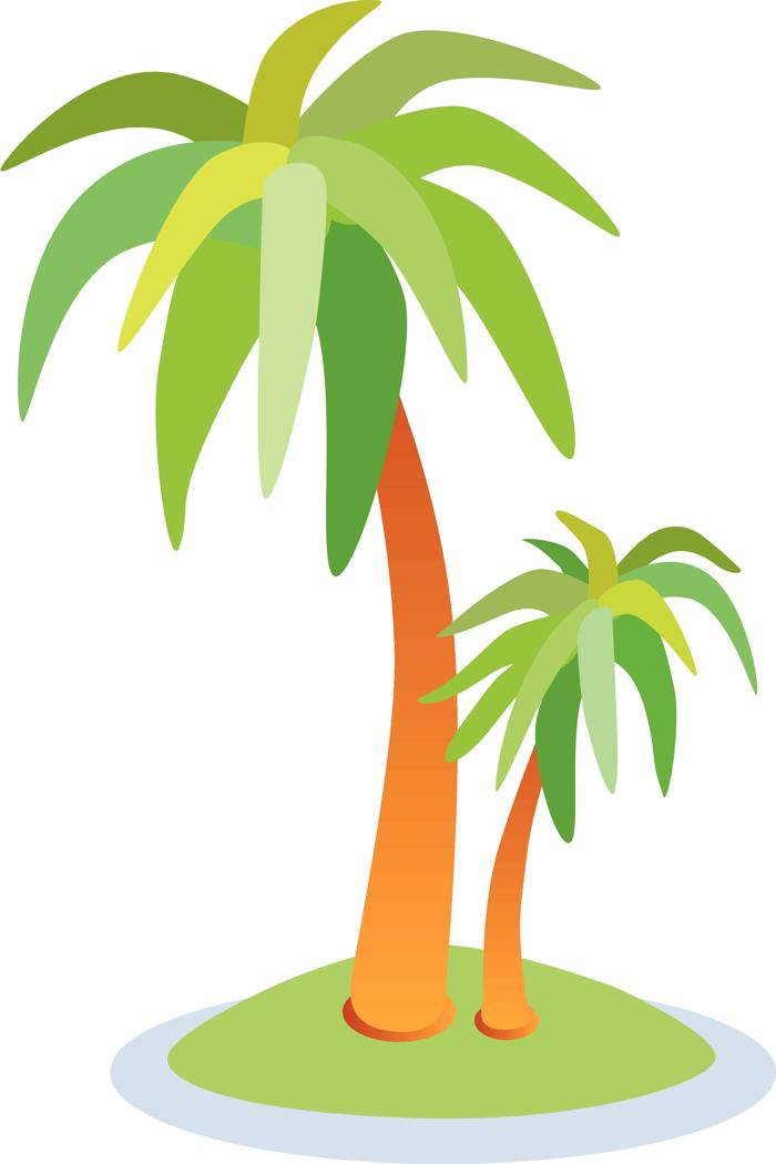 Florida palm tree clipart clipartix