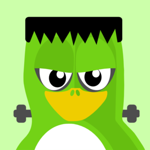 Frankenstein bird clip art at vector clip art
