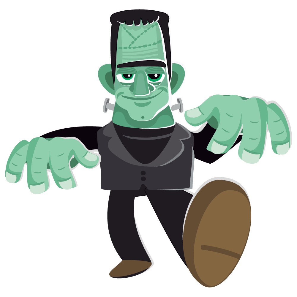 Frankenstein free to use clipart