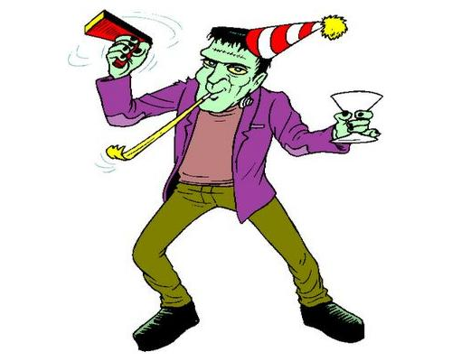 Frankenstein halloween clip art