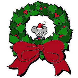 Free christmas clipart wreaths
