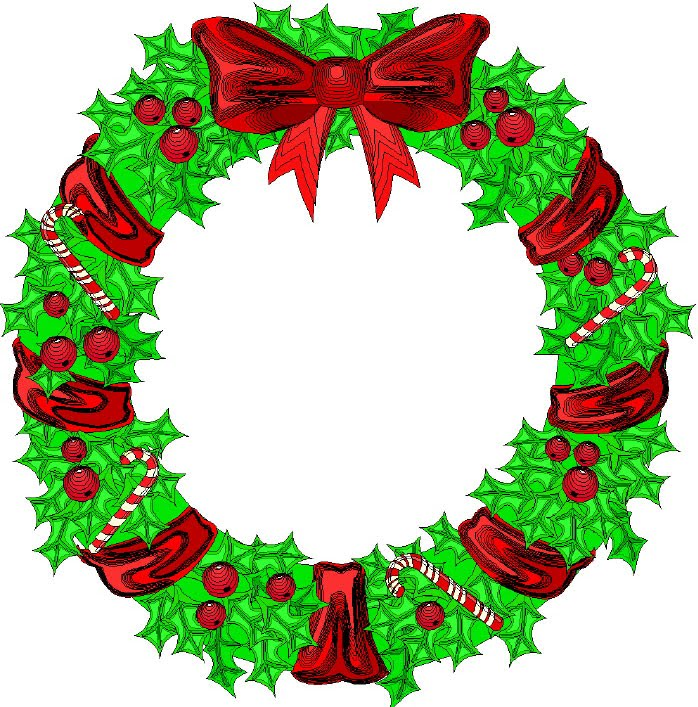 Free wreath clipart