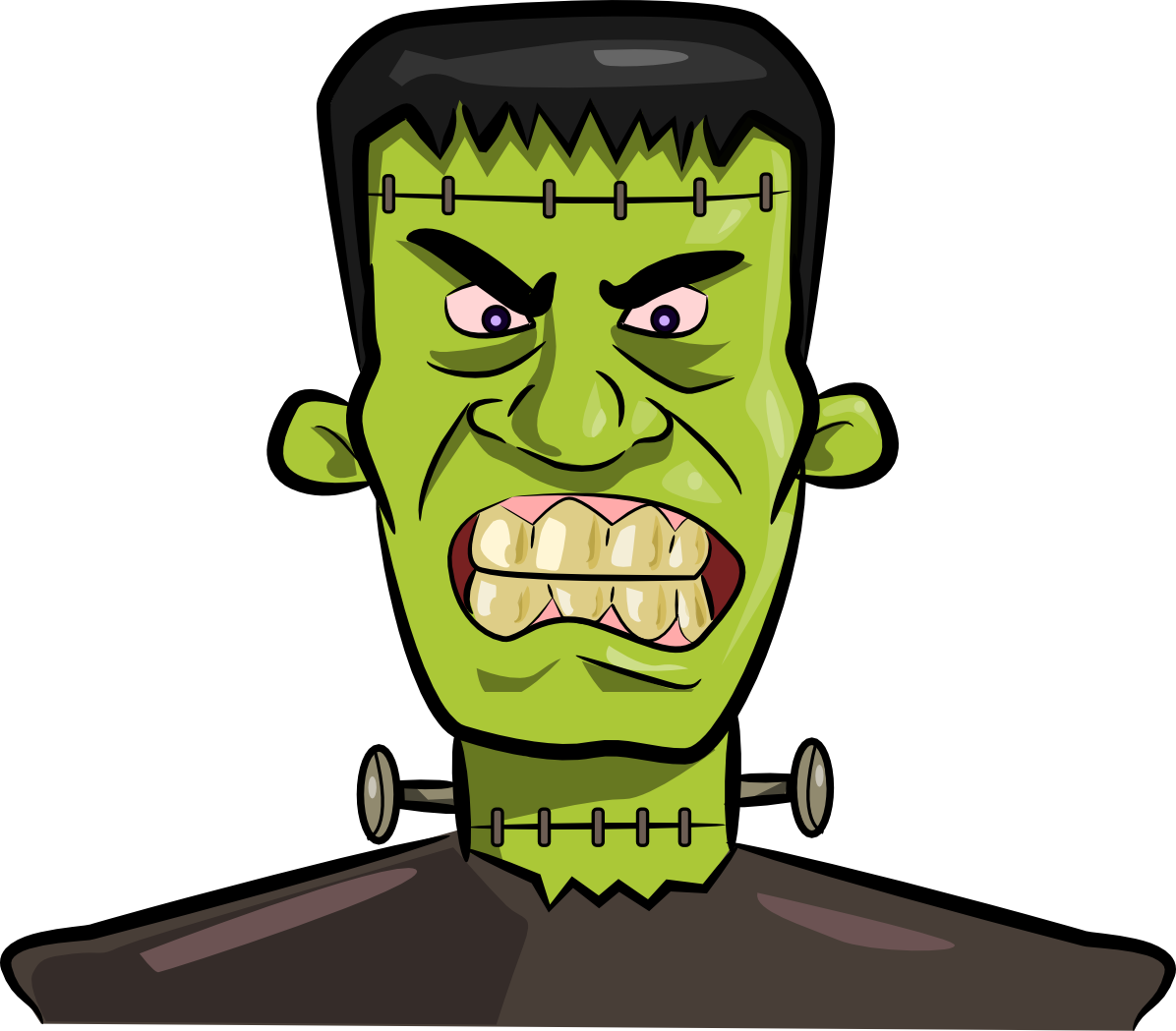 Halloween frankenstein clipart kid 4