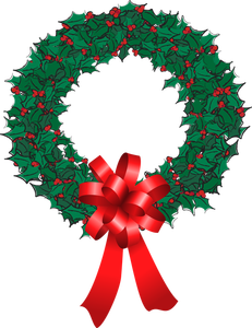 Holiday wreath clip art clipart cliparts and others