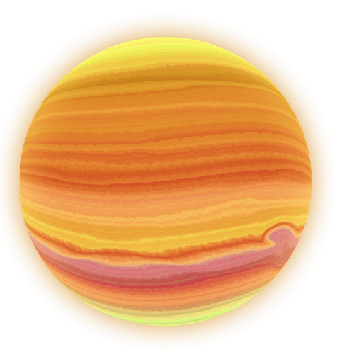 Jupiter planet clipart kid