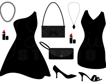 Ladies fashion clipart free images 2