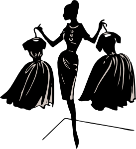 Ladies fashion clipart free images