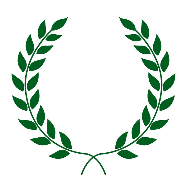 Laurel wreath clipart