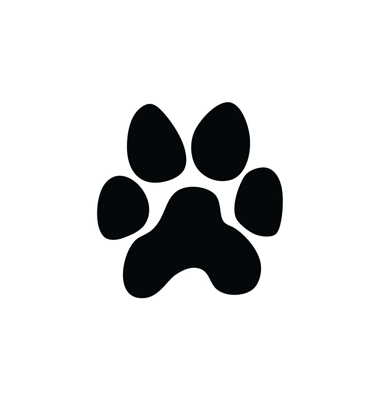 Paw print wildcats on dog paws paw tattoos and clip art image 2
